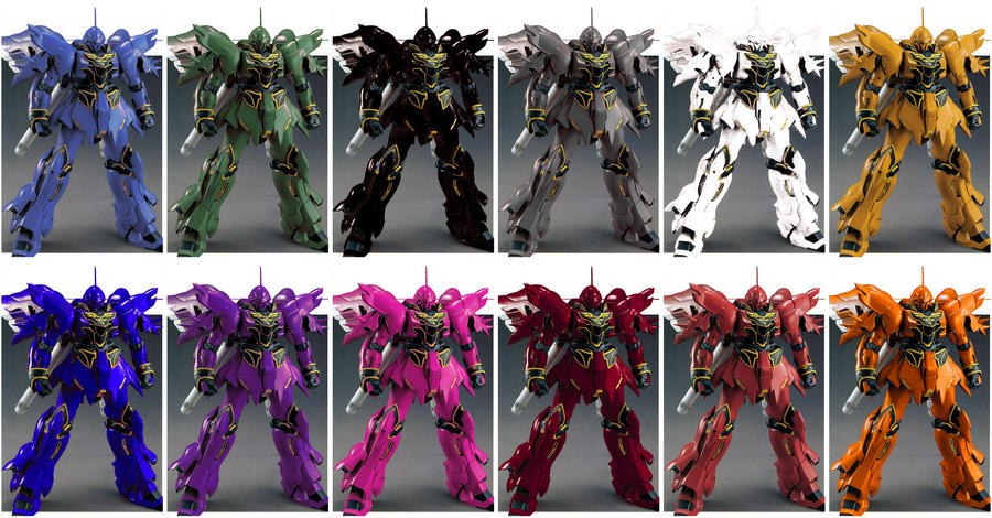 Sinanju color test by HobbyV