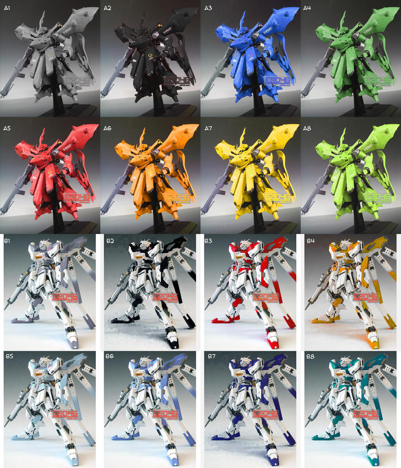 Conversions Color Test by HobbyV