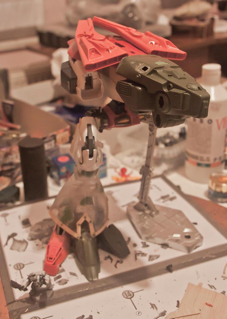Warhound WIP 2 by HobbyV