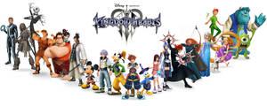 Kingdom Hearts 3 Fan made Poster