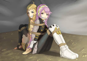Soleil and ophelia by cailin020