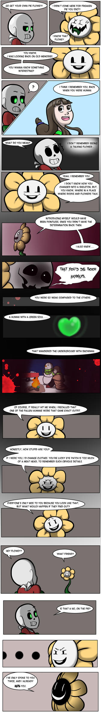 Undertale Green Chapter 3 Page 18 by FlamingReaperComic