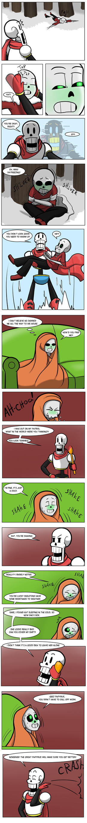undertale green Chapter 3 Page 22 by FlamingReaperComic