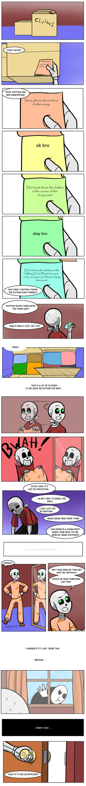 Undertale green Chapter 3 Page 25 by FlamingReaperComic