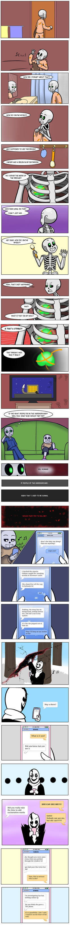 Undertale Green Chapter 3 Page 27 by FlamingReaperComic