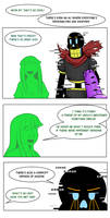 Undertale Green Chapter 5 Page 1