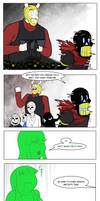 Undertale Green Chapter 5 Page 2
