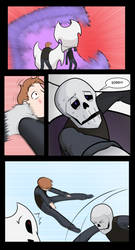 Undertale Green Chapter 4 Page 42 by FlamingReaperComic