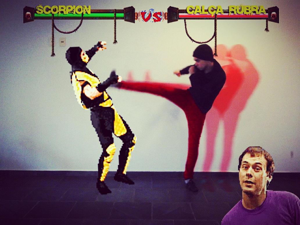 Scorpion Vs Crimson Pants by John-Itachi