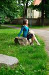 Posing practice with Oriko 2/4