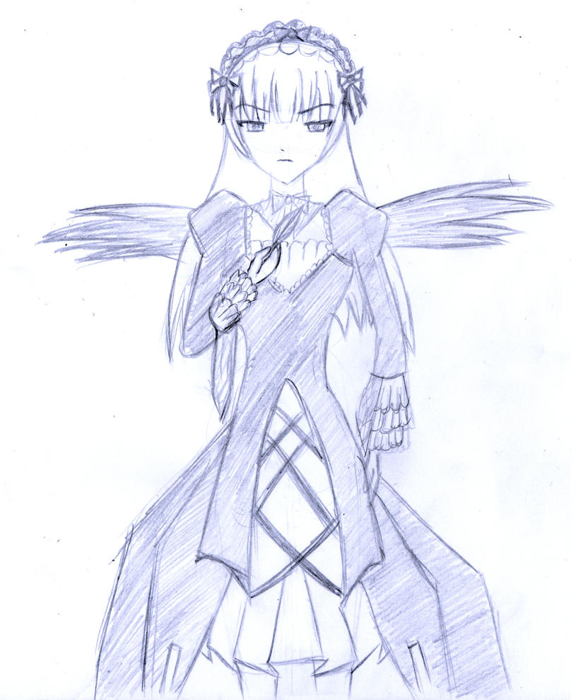 Suigintou sketch by frolka