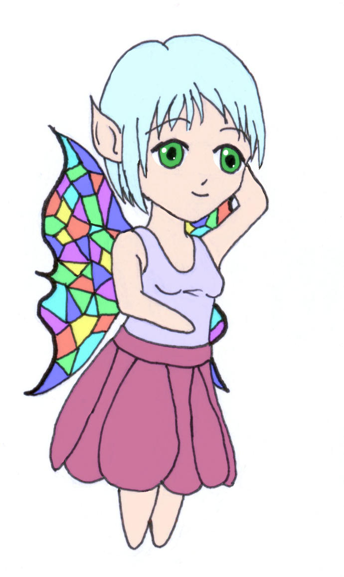 Fairy Polygon Wings by frolka