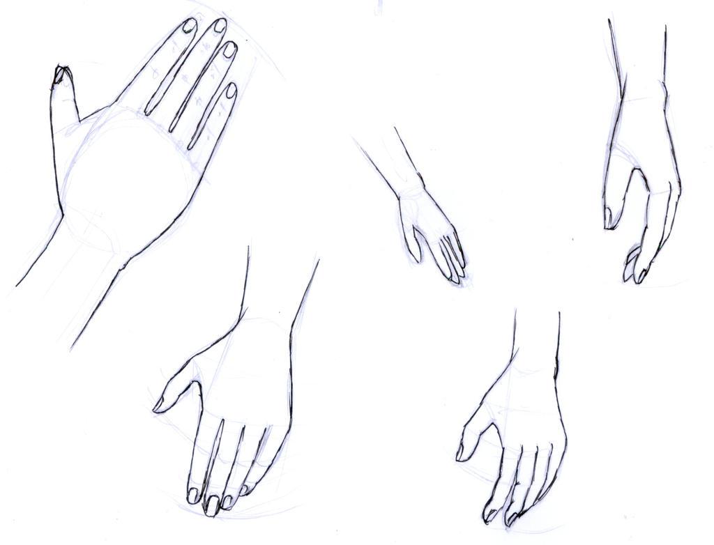 Inktober 2017 #17 - Hands by frolka