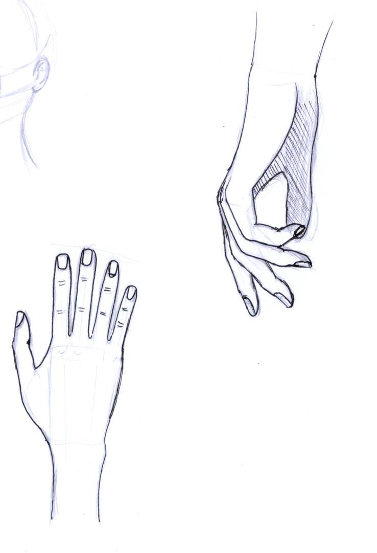 Inktober 2017 #18 - Hands by frolka