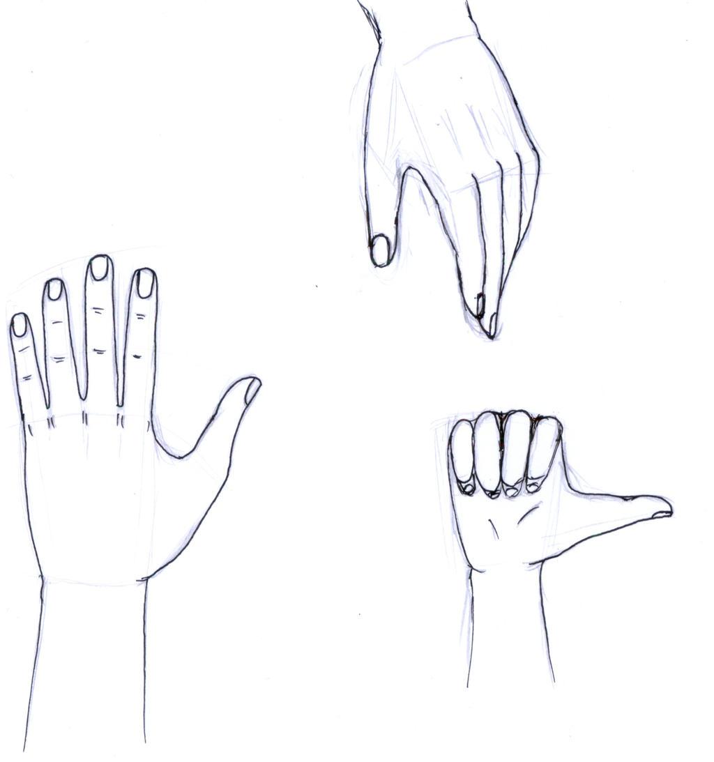 Inktober 2017 #19 - Hands by frolka