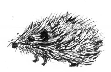 Inktober 2018 - prickly by frolka