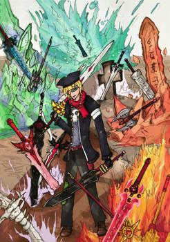 Epic Battle Fantasy Fanart: Swords!!!