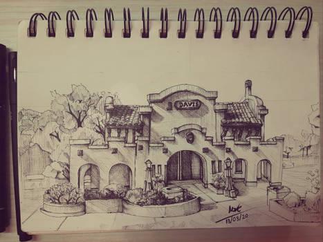 Ink: Davis Station