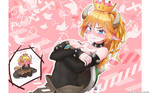 The Melancholy of Bowsette