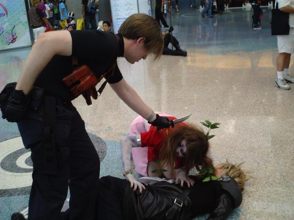 Resident Evil Fantasy 7 by happy4neko