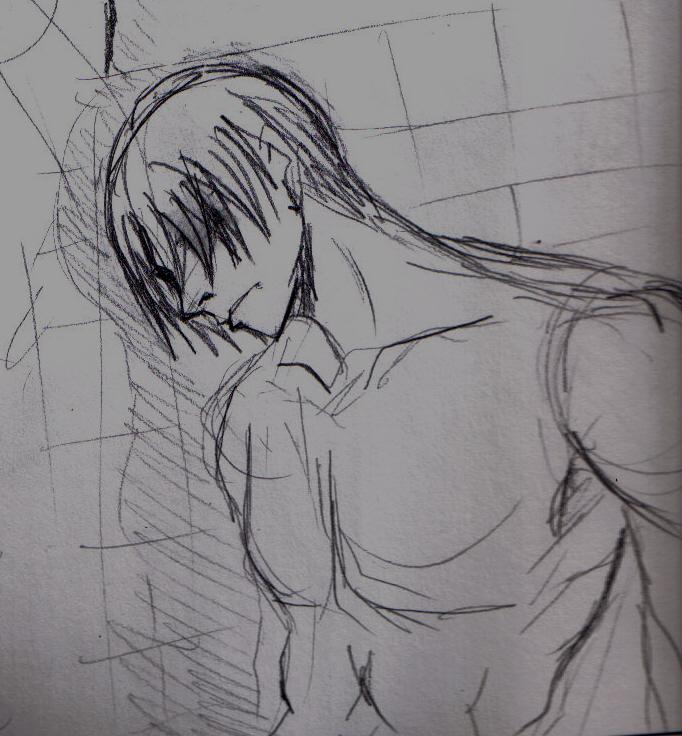 leon shower by happy4neko