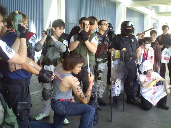 Resident evil gathering by happy4neko
