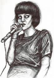 Alice Glass by CyanBerryy