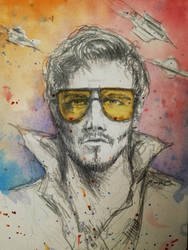 Star-lord  by CyanBerryy