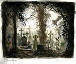 Graveyard (watercolours)
