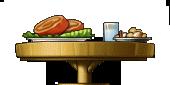 Dinner table by sneezeupyournostrils