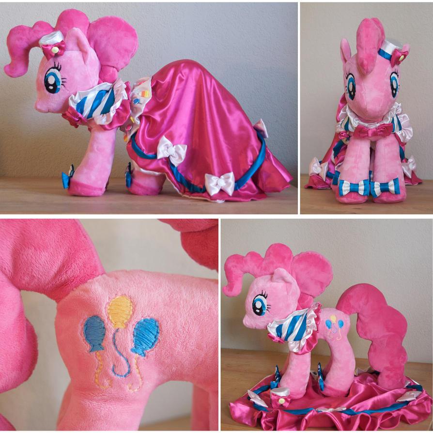Gala Pinkie Pie by mylittleplushie