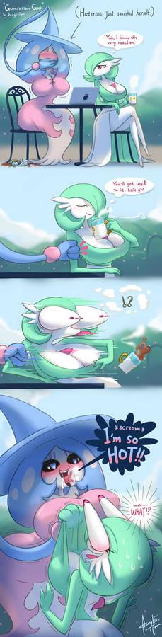 Generation Gap (Pokemon Fan Comic)