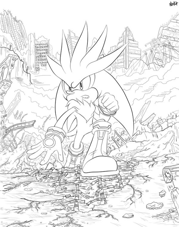 The future - Lineart by NENIKAT