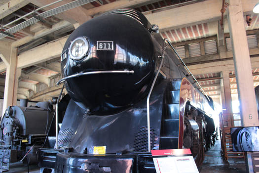 Norfolk And Western Class J 4-8-4 #611 1-12-21