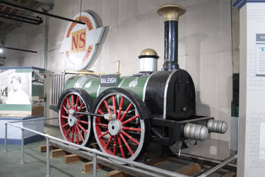 Raleigh And Gaston 0-4-0 Tank Engine 1-12-21