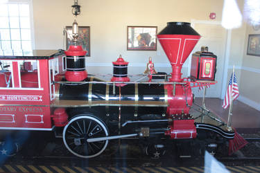 Rotary Express 4-2-2 Steam Locomotive 1-12-21