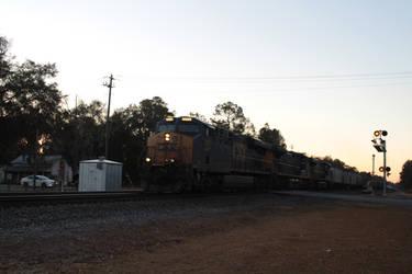 Northbound CSX Phosphate Train 1-18-21