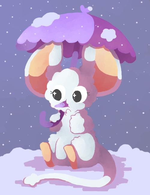 spinnando likes snow by Jawrdayn