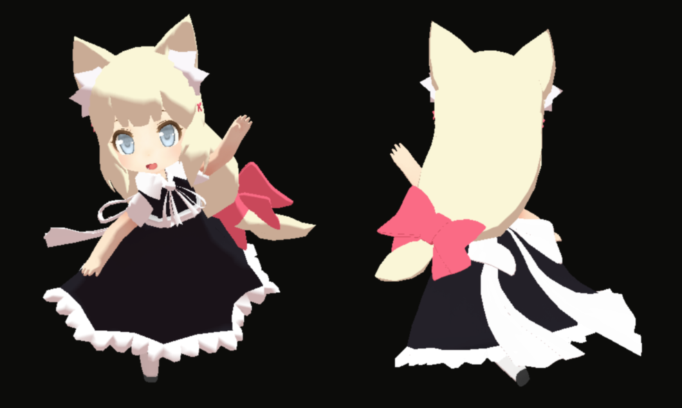 3DKawaii Kitsunemimi Loli/Chibi by Primpri on DeviantArt