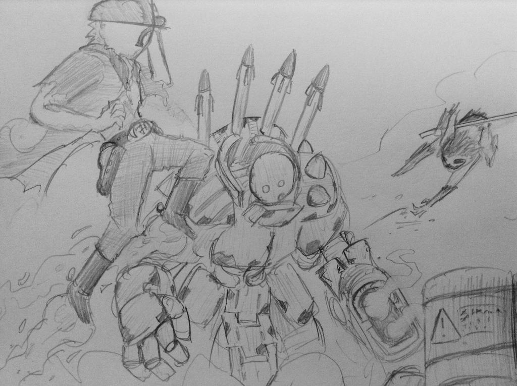 Sketch: Relics better left unscavenged by woundedskies