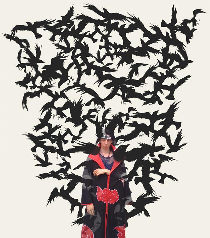Itachis Crow Genjustsu By Uchihasymon