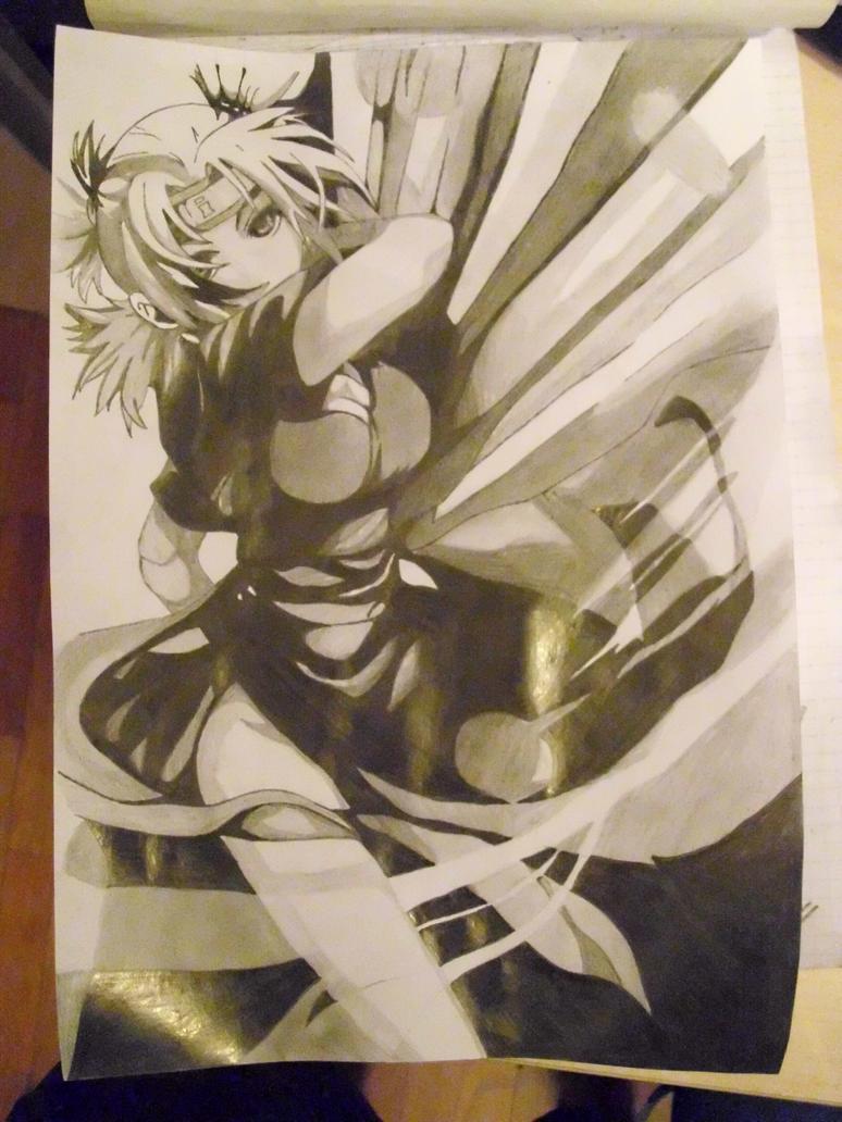 Temari, the wind queen. by Aisutaiga