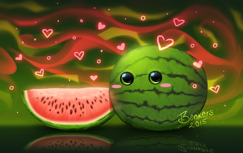 cute watermelon wallpaper