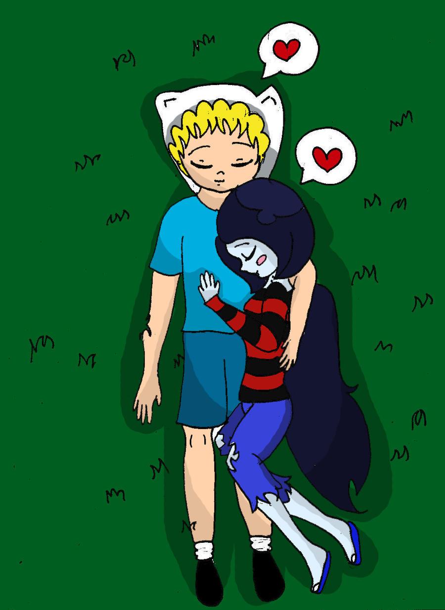 Finn and Marceline by MarcelineSexyVampire on DeviantArt