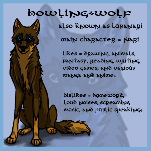 Howling-Wolf s Profile...