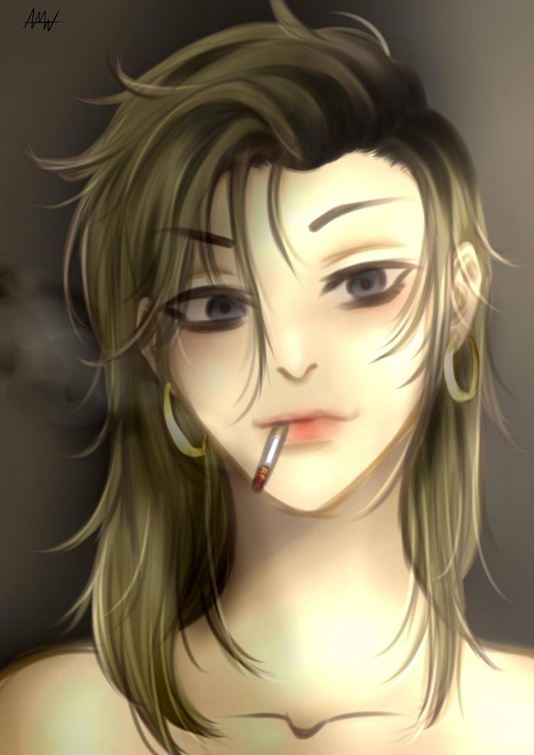Oh Sangwoo Genderbend My verison by ANGELIKAmadori