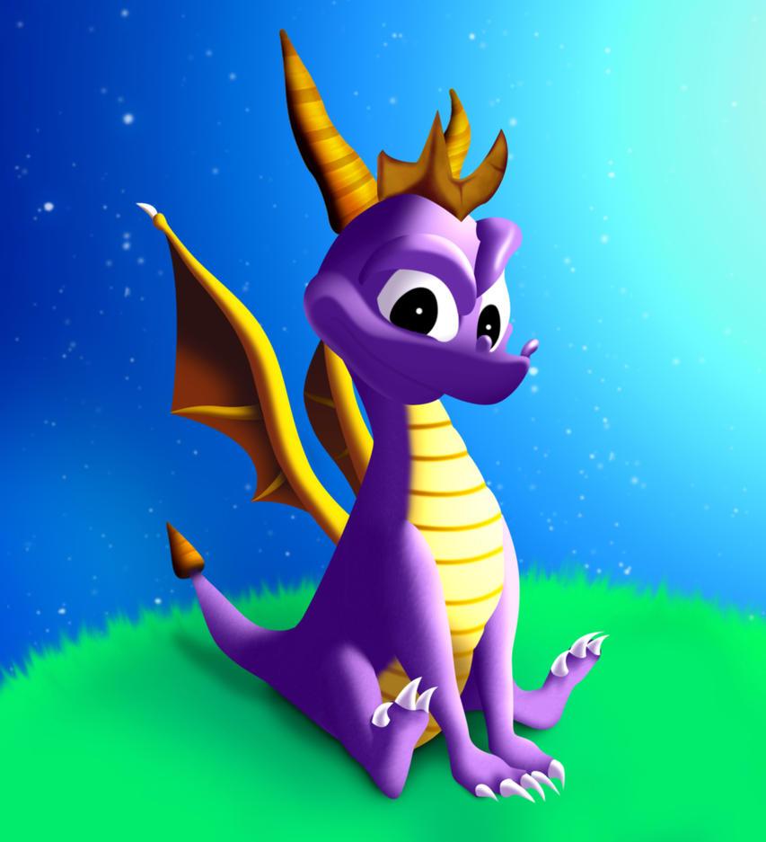 Spyro The Dragon by XsiempreFanCSY