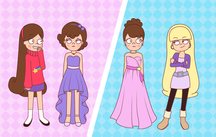 Dipper's Makeovers by XsiempreFanCSY