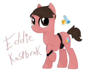 Eddie Kaspbrak From IT As A Pony by Kovu3