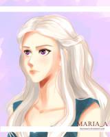 Daenerys Targaryen by MariaAart